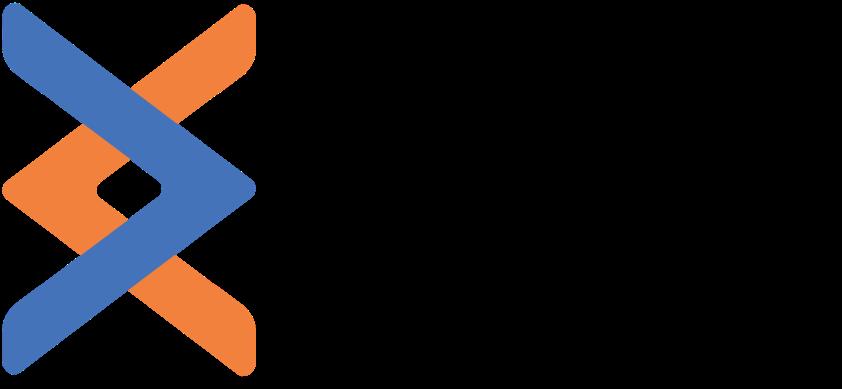 Logo color transparent black text